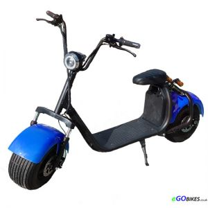 eGO HD Blue Electric Scooter