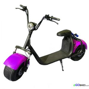 eGO HD Purple Electric Scooter