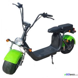 eGO Road Lime Green Electric Scooter